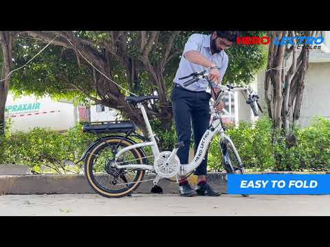 Hero Lectro e-cycle - Hero Lectro C9 The Folding E-bike
