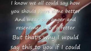 What Would I Say by Steven Curtis Chapman