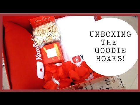 PART 2: UNBOXING THE YOUTUBERS' GOODIE BOXES