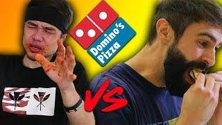 1 minute pizza challenge vs Matt Stonie(vs Furious Pete vs LA Beast)