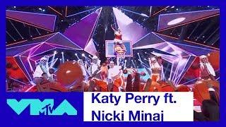 Katy Perry Ft. Nicki Minaj 360° Performance Of 'Swish Swish' | 2017 VMAs | MTV