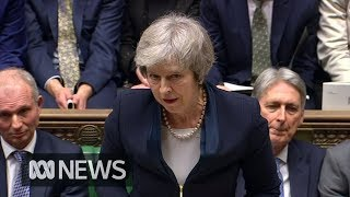 British Parliament overwhelmingly rejects Theresa May
