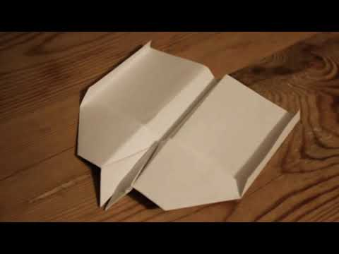 Cool Trick Shows How To Make A Paper Plane To Loop Forever