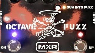 MXR SF01 Slash Octave Fuzz Video
