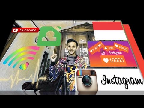 Video Aplikasi penambah followers Instagram sampai 5000 Followers !!!