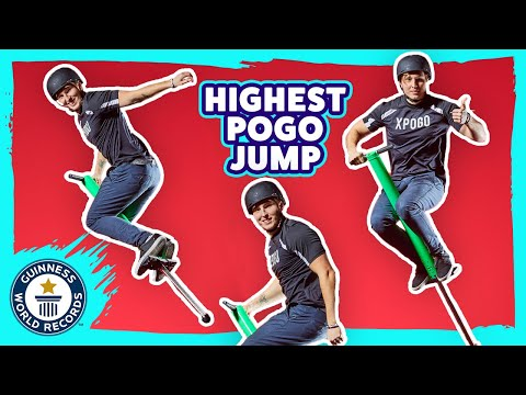 Pogo Stick Jumping Record
