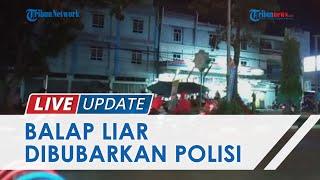 Balap Liar di Sarolangun Dibubarkan Polisi, Anak di Bawah Umur Ditangkap dan Ratusan Motor Disita