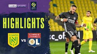 Nantes 1-2 Lyon Pekan 33