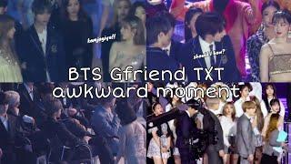 BTS Gfriend Txt awkward moment