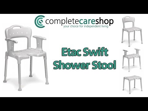 A video overview of the Etac Swift Shower Chair