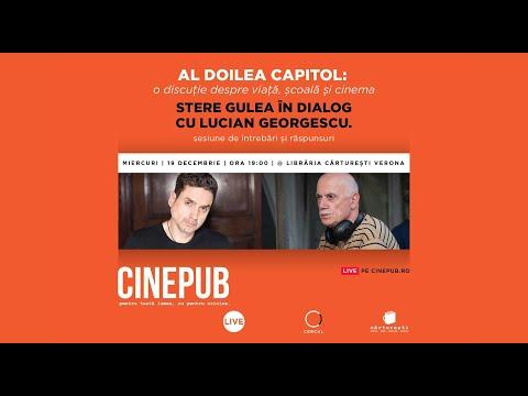 Stere Gulea în dialog cu Lucian Georgescu | CINEPUB Live