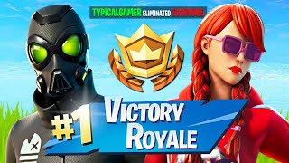 Winning in Duos w/ My Girlfriend! (Fortnite Season 3)