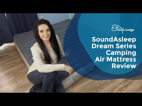 SoundAsleep Dream Series Camping Air Mattress Review