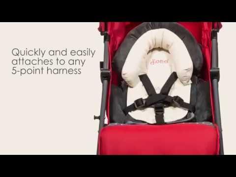 Diono Cuddle Soft Sitzverkleinerer für Babyschale und Buggy