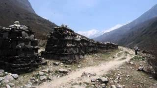 preview picture of video 'En sti i Langtang, Nepal'