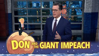 "In an 8-page letter to Congress, the White House laid out the administration's plan to openly obstruct the impeachment inquiry against the President. #Monologue #Impeachment #Colbert  Subscribe To ""The Late Show"" Channel HERE: http://bit.ly/ColbertYouTube For more content from ""The Late Show with Stephen Colbert"", click HERE: http://bit.ly/1AKISnR Watch full episodes of ""The Late Show"" HERE: http://bit.ly/1Puei40 Like ""The Late Show"" on Facebook HERE: http://on.fb.me/1df139Y Follow ""The Late Show"" on Twitter HERE: http://bit.ly/1dMzZzG Follow ""The Late Show"" on Google+ HERE: http://bit.ly/1JlGgzw Follow ""The Late Show"" on Instagram HERE: http://bit.ly/29wfREj Follow ""The Late Show"" on Tumblr HERE: http://bit.ly/29DVvtR  Watch The Late Show with Stephen Colbert weeknights at 11:35 PM ET/10:35 PM CT. Only on CBS.  Get the CBS app for iPhone & iPad! Click HERE: http://bit.ly/12rLxge  Get new episodes of shows you love across devices the next day, stream live TV, and watch full seasons of CBS fan favorites anytime, anywhere with CBS All Access. Try it free! http://bit.ly/1OQA29B  --- The Late Show with Stephen Colbert is the premier late night talk show on CBS, airing at 11:35pm EST, streaming online via CBS All Access, and delivered to the International Space Station on a USB drive taped to a weather balloon. Every night, viewers can expect: Comedy, humor, funny moments, witty interviews, celebrities, famous people, movie stars, bits, humorous celebrities doing bits, funny celebs, big group photos of every star from Hollywood, even the reclusive ones, plus also jokes."