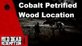 Red Dead Redemption 2 Cobalt Petrified Wood Location