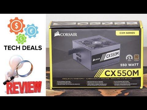 Corsair CX550M – $60 Modular 80+ Bronze Power Supply – Review