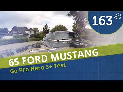 65 Ford Mustang V8 289 cui Probefahrt und Test für die GoPro Hero3+ in Hamburg Harburg