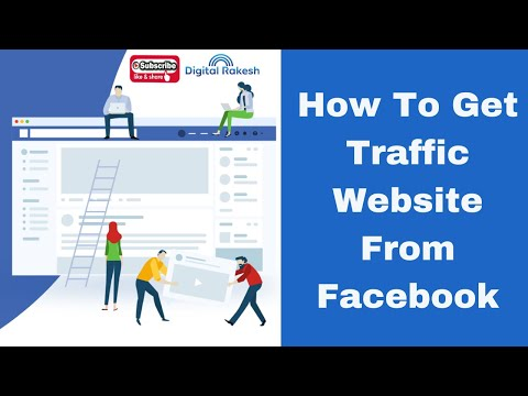 How to get Traffic website from Facebook