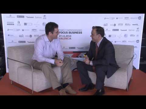 Entrevista a Iker Marcaide en el #DPECV2014