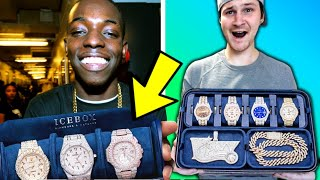 BOBBY SHMURDA Shows Off His NEW ICEBOX JEWELRY COLLECTION!! (Is It Sick?)