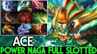 ACE [Naga Siren] Power Of Naga Full Slotted Cancer Hero 7.21 Dota 2