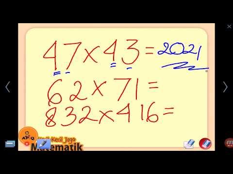 Video Cara Menghitung Perkalian Cepat  - Trik 7 Detik (3)