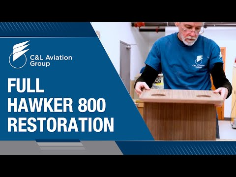 Full Hawker 800 Restoration