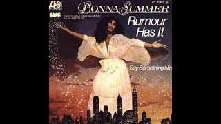 Donna Summer Rumour Has It(Album Version Edit)