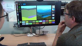 Un progetto NVIDIA per trasformare disegni vettoriali in paesaggi fotorealistici.