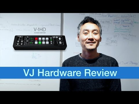 Roland V-1HD – VJ Hardware Review