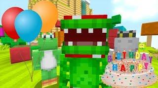 Minecraft Wii U - Super Mario Series - Tripolarz Birthday Party! [123]