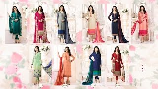 Latest Indian Dresses Collections 2017   Vinay Fashion  SILKINA ROYAL CREPE VOL 9