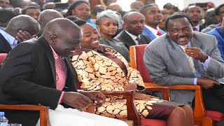 """Nilipata Rachel kanisani"": DP Ruto's hilarious speech in church"