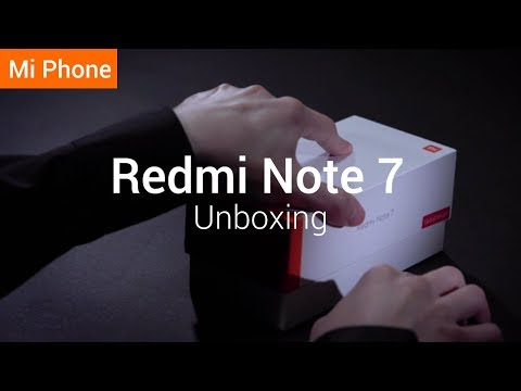 Redmi Note 7: Unboxing