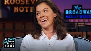 Tatiana au Late Late Show with James Corden - juillet 2016