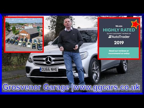 MERCEDES-BENZ GLC-CLASS 2.1 GLC 220 D 4MATIC AMG LINE 5DR AUTOMATIC