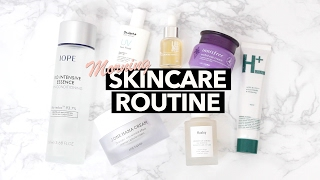 Morning Korean Skincare Routine [Updated]