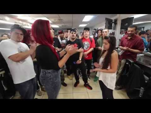 BMNY- Robyn Banks vs Banshee Bliss - Female Rap Battle