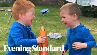 Lucozade Kids: Viral Video Of Boys Hysterically Laughing After Drinking Lucozade Will Make Your Day