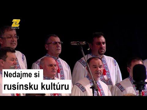 FOLKLÓR NA ZEMPLÍNE<br />Mužský spevácky zbor Rusinija