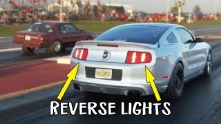 Mustang launches IN REVERSE - Fail!