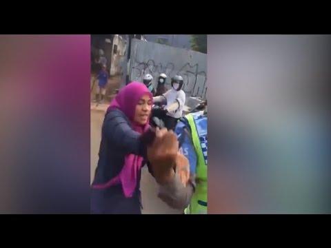 Fakta Seputar Dora Natalia Si Penyerang Polantas