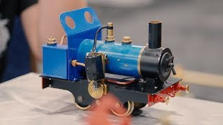 Scratch-Built Model Steam Trains! - Video Youtube