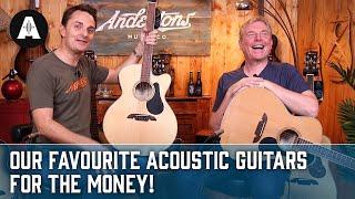 Alvarez Acoustic Guitar Run Down Featuring Danish Pete & Chris Buck