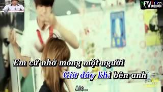 karaoke HD EM KHÁC HAY ANH KHÁC ( Singer : hoang nhật linh beat tach made