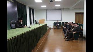 Рабочее совещание с преподавательским составом медресе «Даруль-Хадис»
