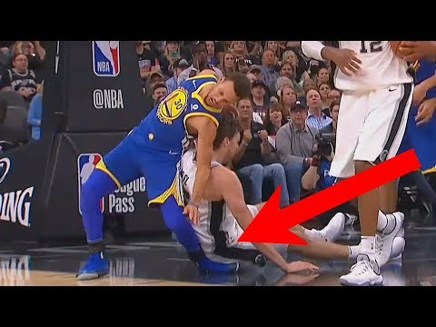 Stephen Curry Scary Injury...Well Almost