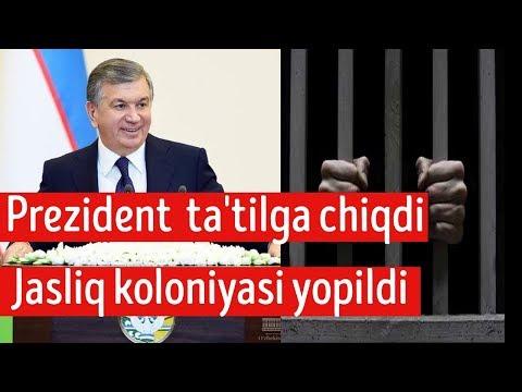 Shavkat Mirziyoyev Ta'tilga chiqdi! Jasliq koloniyasi yopildi.Endi mahkamlarga nima bo'ladi?